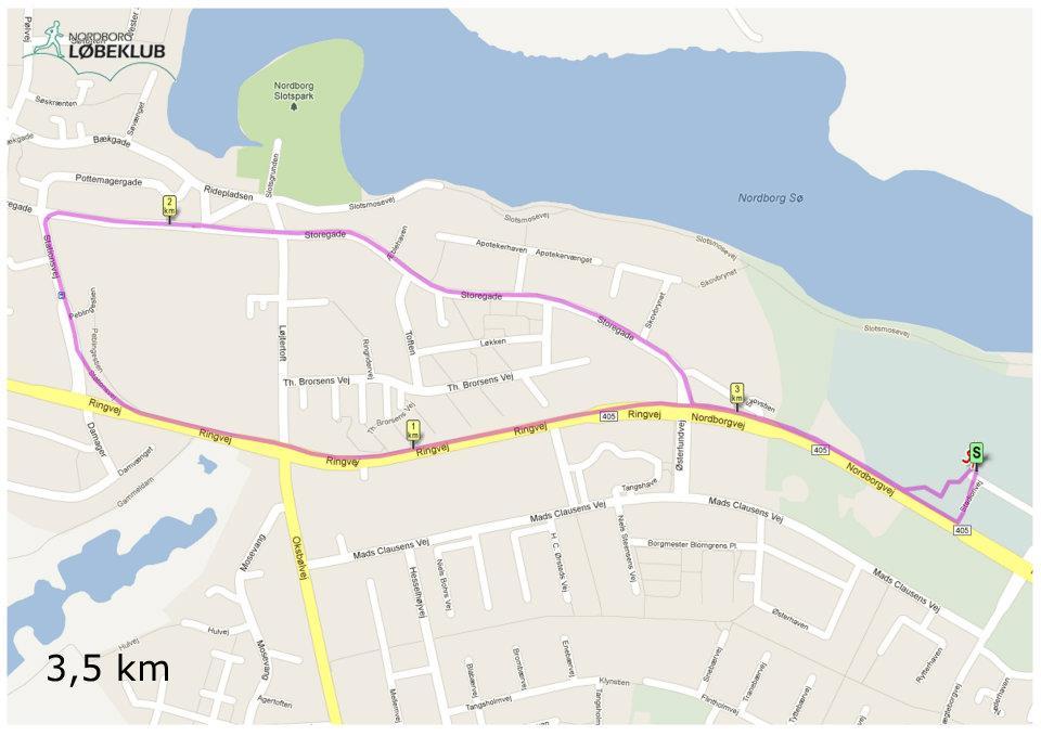 3,5km