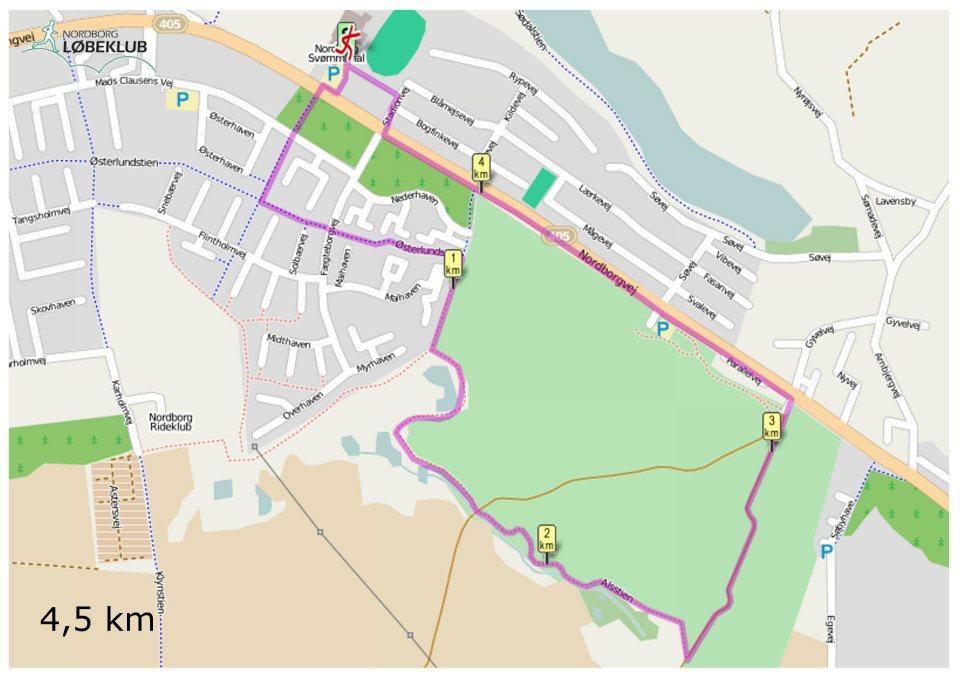 4,5km
